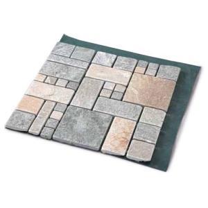 雑草が生えない天然石マット ローマ調 ( 4枚入 )の関連商品6