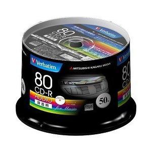 バーベイタム CD-R オーディオ 80分 50枚 MUR80FP50SV1 ( 50枚入 )/ バーベイタム|soukai
