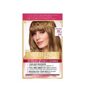 エクセランス N 液状タイプ 8G 黄味のあるより明るい栗色 白髪染め ( 1セット )/ ロレアル...