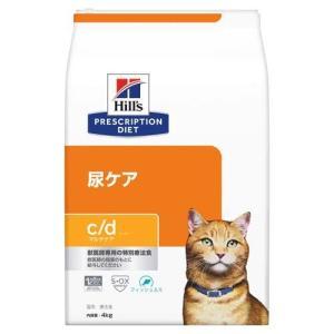 ヒルズ プリスクリプション・ダイエット 猫用 c/d マルチケア 尿ケア フィッシュ入り ( 4kg...
