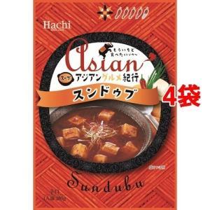 アジアングルメ紀行 スンドゥブ ( 180g*4袋セット )/ Hachi(ハチ)|soukai