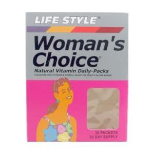 ライフスタイル(LIFE STYLE) ウーマンズチョイス デイリーパック ( 30袋入 )/ ライフスタイル(LIFE STYLE)