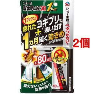 アース ゴキプッシュプロ 1 約80回 ( 20ml*2個セット )/ ゴキジェットプロ|soukai