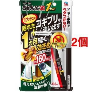 アース ゴキプッシュプロ 1 約160回 ( 34ml*2個セット )/ ゴキジェットプロ|soukai