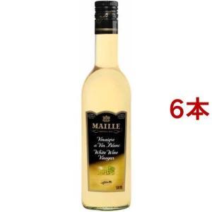 マイユ 白ワインビネガー ( 500ml*6本セット )/ MAILLE(マイユ)