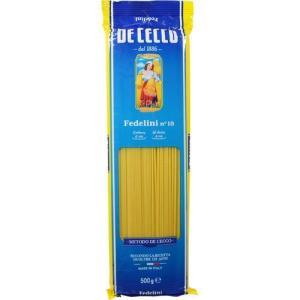 ディチェコ No.10 フェデリーニ ( 500g )/ ディチェコ(DE CECCO) ( パスタ 輸入食材 輸入食品 ディ・チェコ )