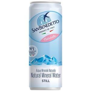 (訳あり)サンベネデット ナチュラル 缶 ( 330ml*24本入 )/ サンベネデット(SAN B...