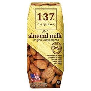 137ディグリーズ アーモンドミルク 甘味不使用 ( 180...