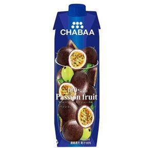 チャバ 100%ミックスジュース パッションフルーツ ( 1...
