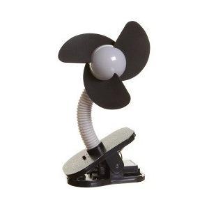 ドリームベビー ベビーカー扇風機 クリップオン ファン シルバー*ブラック/チャイルドシート ベビー...