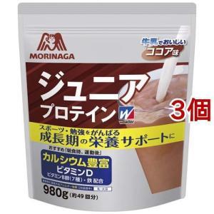 ウイダー ジュニアプロテイン ココア味 ( 980g*3コセット )/ ウイダー(Weider)
