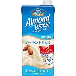 ブルーダイヤモンド アーモンドブリーズ 砂糖不使用 ( 1L*6本入 )/ ブルーダイヤモンド ( ダイヤモンド アーモンドミルク )|soukaidrink