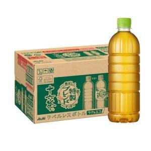 アサヒ 十六茶 ラベルレスボトル ( 630ml*24本入 )/ 十六茶|soukaidrink