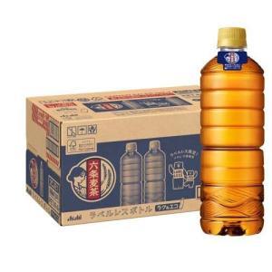 アサヒ 六条麦茶 ラベルレスボトル ( 660mL*24本入 )/ 六条麦茶|soukaidrink