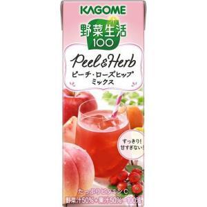 ☆送料無料☆/野菜生活100 PeeL&Herb ピーチ・ローズヒップミックス/野菜ジュース・フルー...