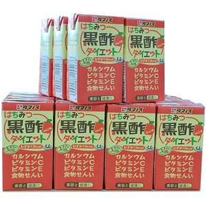 タマノイ はちみつ黒酢ダイエット LL ( 125mL*24本入 )/ はちみつ黒酢