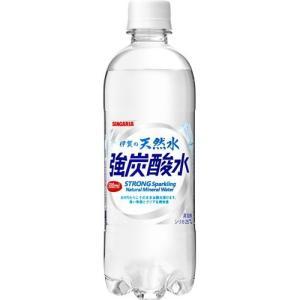 サンガリア 伊賀の天然水 強炭酸水 ( 500mL*24本入 )/ サンガリア 天然水炭酸水|soukaidrink