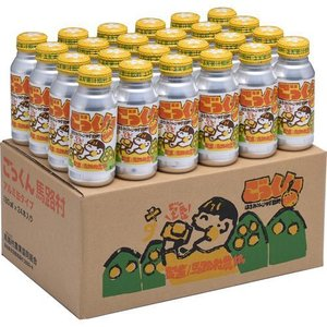 缶のごっくん馬路村 アルミ缶 ( 180mL*24本入 )|soukaidrink