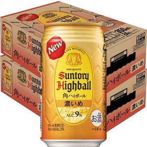 サントリー 角ハイボール 濃いめ 缶 ( 350ml*48本セット )