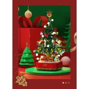 レゴ レゴブロック LEGO レゴ クリスマス サンダークロス プレゼント ライト付き互換品 クリス...