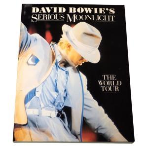 【洋書】デヴィッド・ボウイ David Bowie's Serious Moonlight: The World Tour|soukodou