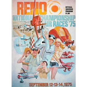 【洋書】リノ・エアレース公式プログラム Reno National Championship Air Races '75 Official Souvenir Program|soukodou