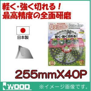 草刈日和 刈払機用チップソー 255mm 1枚 IWOOD|soukoukan