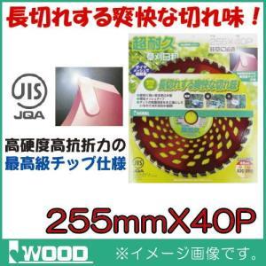 超耐久 刈払機用チップソー 255mm 1枚 IWOOD|soukoukan