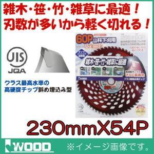 山林下刈用 刈払機用チップソー 230mm 1枚 IWOOD|soukoukan
