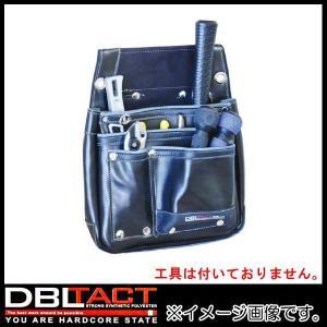 DBLTACT 本革釘袋 DTL-07-BK ブラック|soukoukan