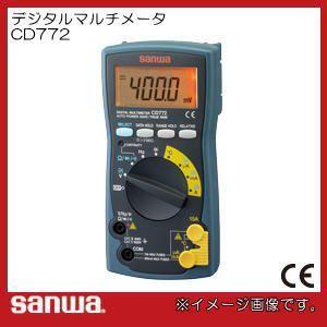 温度測定可能デジタルテスター CD772 三和電気計器|soukoukan