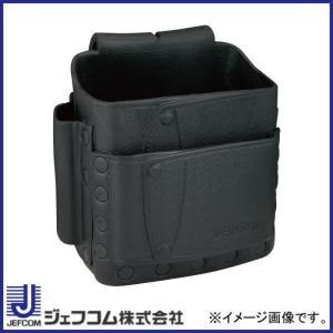 デンサン ソフトプラポーチ スタンダードタイプ ブラック DPP-860M-BK ジェフコム 大決算セール|soukoukan