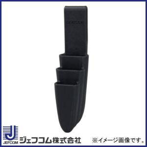 デンサン スリムプラホルダー ブラック ペンチ3丁吊 DSPH-930 ジェフコム|soukoukan