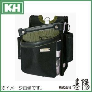 腰袋 釘袋 グリーン GEA1614G 基陽 KH|soukoukan