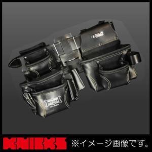 ニックス 最高級2x2ポケットフィニッシュスエードツールバッグ(ベルト取外可) KCA-9507C KNICKS KCA9507C|soukoukan
