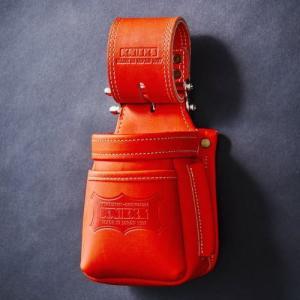 高級な ニックス チェーンタイプ高級小物腰袋 レッド KNICKS 受注生産 送料無料限定セール中 KGR-201VADX