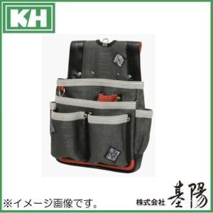五神獣釘袋W型 茜 SJ02R 基陽 KH 腰袋|soukoukan