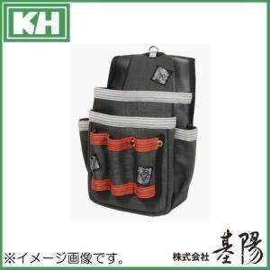 五神獣腰袋 3連差し付 茜 SJ06R 基陽 KH 釘袋|soukoukan