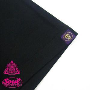 ART JUNKIE TOKYOコラボレーション「SOULMAN 1」Tシャツ ブラック soul-sports 05