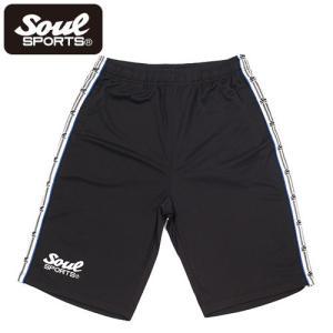 SOUL SPORTSオリジナル ラインショーツ 吸汗速乾素材|soul-sports