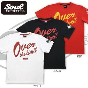 SOUL SPORTSオリジナル 「Over the limit」ロゴTシャツ|soul-sports|02