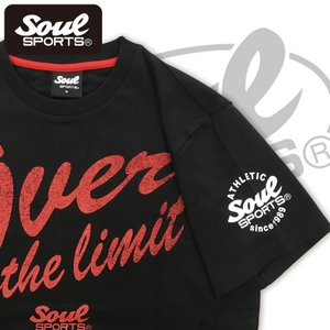 SOUL SPORTSオリジナル 「Over the limit」ロゴTシャツ|soul-sports|04
