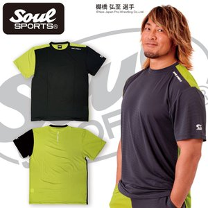 SOUL SPORTSオリジナル 超軽量アシンメトリー切替 ドライTシャツ 2017新作|soul-sports|04
