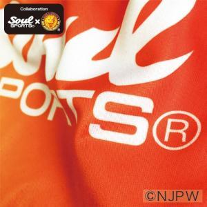 新日本プロレス×SOUL SPORTSコラボ グラデーション総柄転写プリントショートパンツ 2017新作|soul-sports|05