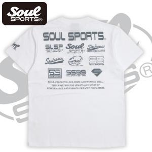 SOUL SPORTSオリジナル フェス風集合ロゴ半袖Tシャツ ブラック/ホワイト|soul-sports|11