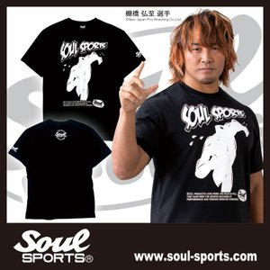 SOUL SPORTSオリジナル アメコミ風ダッシュマン半袖Tシャツ ブラック 2018新作 soul-sports