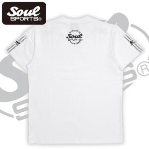 SOUL SPORTSオリジナル 袖テープロゴプリント半袖Tシャツ ブラック/ホワイト 2019新作 soul-sports 08