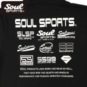 SOUL SPORTSオリジナル 集合ロゴジップパーカ ブラック 2018新作|soul-sports|08