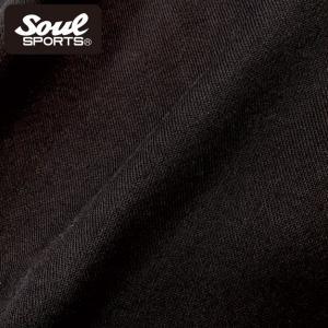 新日本プロレス×SOUL SPORTSコラボ 英字筆記体ロゴジップパーカ ブラック 2018新作|soul-sports|09
