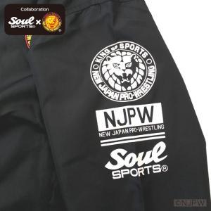 新日本プロレス×SOUL SPORTSコラボ クラシック新日ロゴライトスタジャン ブラック 2018新作 soul-sports 07
